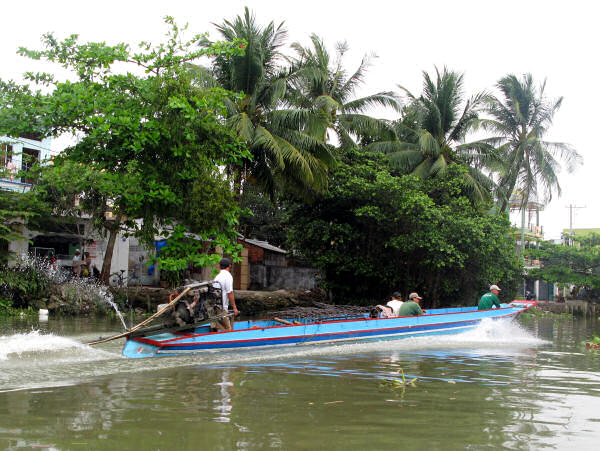 Mekong Delta Boats: The Wooden Boats of the Mekong Delta