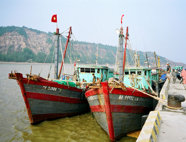Deep Water Port at Cua Lo