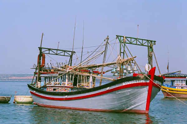 Squid Boat at Mui Ne