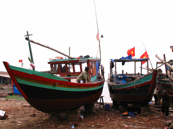 Sam Son Traditional Boats